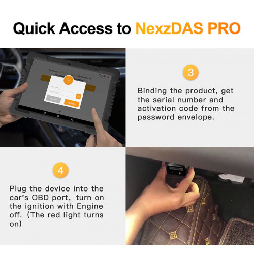 NexzDAS Full System Diagnostic Tool 64 GB Tablet PC