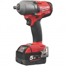 Milwaukee M18 FMTIWF12-502X Cordless Impact Wrench 1/2""