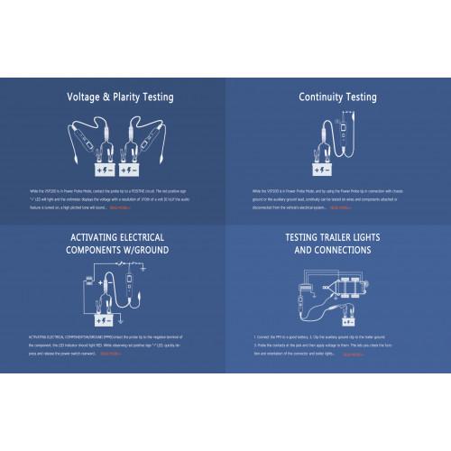 VSP200 Power Probe Circuit Tester multi-diagnostics tool