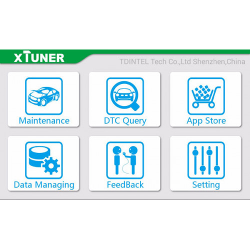 XTUNER X500 OBD2 Scanner & Special Functions Supports Android OS